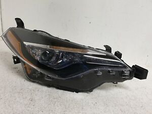2017 18 Toyota Corolla Right Headlight Passenger Led Lamp Oem H883