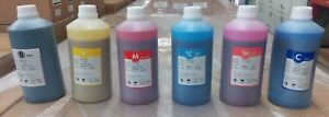 Eco Solvent Ink Refill For Roland Mutoh Mimaki Epson C y m k lm Lc 6 000 Ml