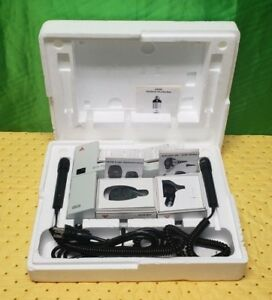 Heine En100 Otoscope k180 Opthamoscope Set Wall Unit Ent Diagnostic Set
