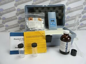 Hach Pocket Colorimeter Analysis Kit With Case 46770 09 6v used
