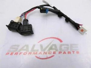 2006 2007 Mazdaspeed Mazda 6 Speed Oem Heated Seats Wiring Harness Black Lights