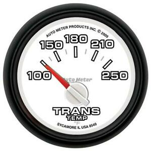 Auto Meter 8549 2 1 16 Trans Temp Gauge Dodge Factory Match 100 250f