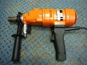 Diamond Products Core Bore Weka Dk1203 Hand Held 3 speed Coring Core Drill
