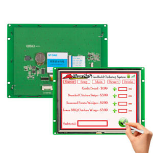 8 0 Hmi Serial Port With Rs232 rs485 And Full Color 65k Tft Lcd Panel