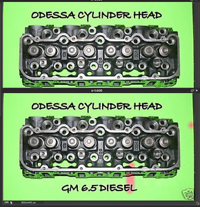 2 New Gm Chevy Hummer 6 5 Diesel 60 Angle Cylinder Heads No Core