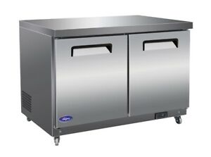 Valpro 48 Commercial Undercounter Freezer 12 Cu Ft Ss Nsf