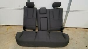 2010 2011 2012 Ford Fusion Gray Grey Rear Back Seat Assembly