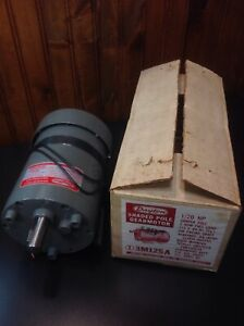 Dayton Model 3m125a Gear Motor 2 Rpm 1 20 Hp 115v Gearmotor 5 8 Shaft