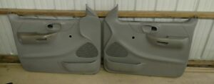 Ford Truck F 150 Door Panels Gray Has Handles Above Arm Rest Oem 1999 2003