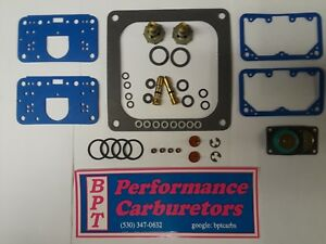 Holley 4500 Dominator Alcohol E85 Deluxe Rebuild Kit Aed Demon Qft