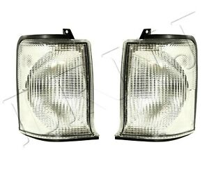 Land Rover Discovery 2 1999 2002 Front Indicator Lamp Set Xbd100870w Xbd100880w
