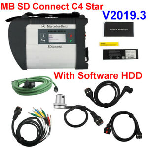Mb Sd C4 Star With V2019 3 Software Hdd Wifi Obd2 Diagnostic Tool Multi language