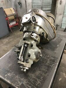 Bridgeport Variable Speed Head will Ship