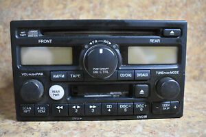 Honda Odyssey 2002 2004 Am Fm Cd Dvd 1tx0 Radio Receiver 39100 s0x a500 W Code