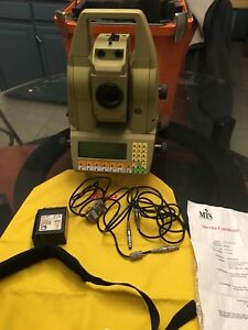 Leica Tca 1100 Total Station Surveying Equipment With Robotic Capabilities