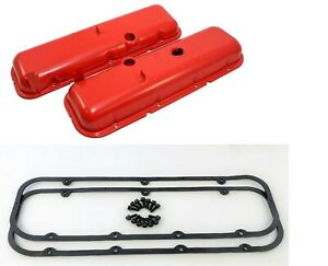 Valve Covers Bbc 396 454 Cheater Covers 1 2 Taller New Kit Chevelle Camaro