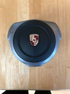 Oem Porsche 997 987 Sport Steering Wheel Airbag In Leather