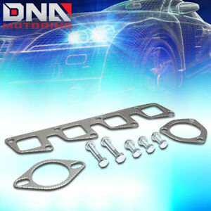 For 1991 1994 Nissan 240sx 2 4l Dohc Aluminum Exhaust Manifold Header Gasket Set