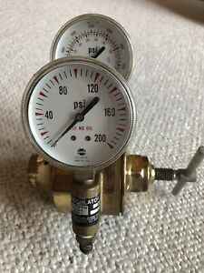 Airco 0 200 Psi 0 4000 Psi Two Stage Gas Regulator