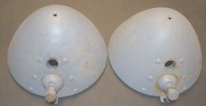 Pair Of 1928 29 Ford Model A Headlight Buckets In Primer