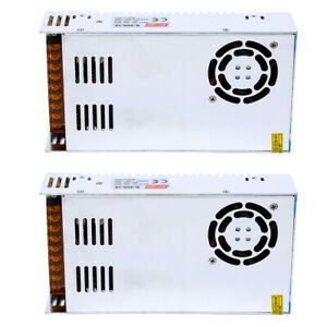 2x Ac 110v 220v To Dc 12v 30a 360w Regulated Switching Power Supply Transformer