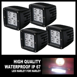 4x16w 3inch Spot Led Work Lights Off Road Bike For Jeep 4wd Car Backup Pods Cube