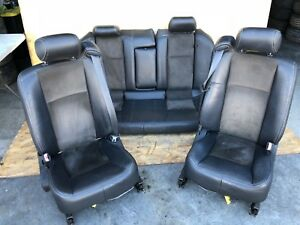 Gm Cadillac Cts V 6 0l Oem Front Rear Leather Suede Interior Bucket Seat Seats