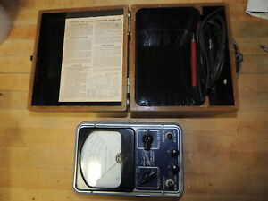 Vintage Hickcock Low Range Ohmmeter Model 419