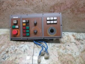 Cincinnati Arrow 500 Cnc Vertical Mill Operator Control Panel 1267132a