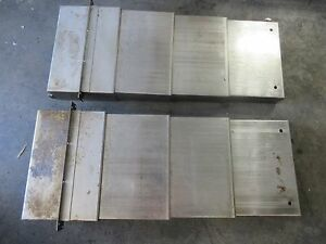 Supermax Ycm fv56a 35 x 14 Inch Cnc Vertical Mill Way Cover Covers Each 1