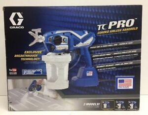 new Graco Tc Pro Corded Airless Handheld 17n163