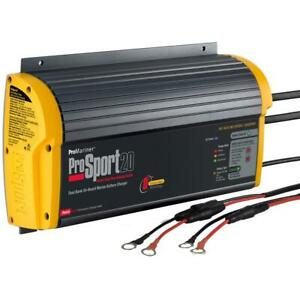 Promariner Prosport 20 Gen 3 Heavy Duty Onboard Marine Battery Charger 20a 2bank
