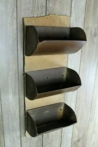 Vintage Wall Decor Old Feed Mill Conveyor Belt And Bucket Farm House Kitchen