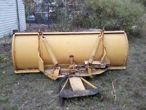 Skidsteer Drott 9 Foot Snow Plow Front End Loader Snow Pusher Blade Snowplow