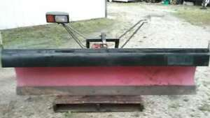 Western 8 Foot Poly Pro Plow Snowplow Unimount Snow Plow