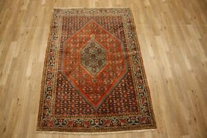 3 9 X5 6 Antique Bijar Wool Handmade Persian Oriental Area Rug Carpet Unique