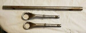 Snap on 8pc Sae Flank Drive Heavy Duty Offset Box Tubular Wrench Set