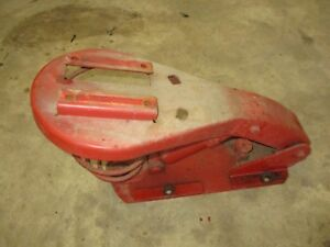 Ih Farmall C Super C Used Seat Assembly Nice One Antique Tractor