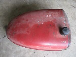Ih Farmall M Sm Mta Used Gas Tank Nice One Antique Tractor