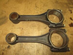 John Deere 40 420 430 320 440 Connecting Rods Pair M1691t Antique Tractor