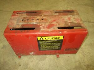 1948 Ih Farmall C Used Seat Base Tool Box Assembly Nice One Antique Tractor