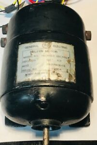Vintage General Electric 2jd123a1a Selsyn Motor