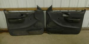 Ford F 150 Truck Door Panels Gray Both L r Oem 1999 2003