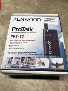 Two Way Radio 4 Channels uhf Kenwood Pkt 23k