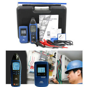 Underground General Cable Detector Meter Wire Finder Tester Tracer Kit With Case