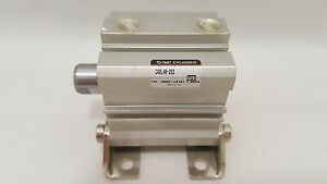 new Smc Cq2l48 25d Compact Pneumatic Cylinder Bore 48mm Stroke 25mm