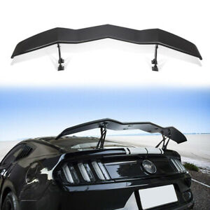 Matte Black Racing Rear Trunk Spoiler Gt Wing Lip Universal For Ford Mustang ya