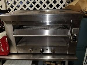 Heavy Duty Infrared 36 Gas Salamander broiler Or Cheese Melter