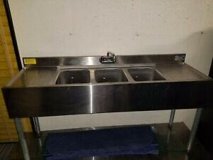 5 l 1800 Series 3 compartment Sink bar Sink