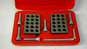 123 Mill Block Set Matched Pair 1 2 3 Precision Machinist Milling Case
